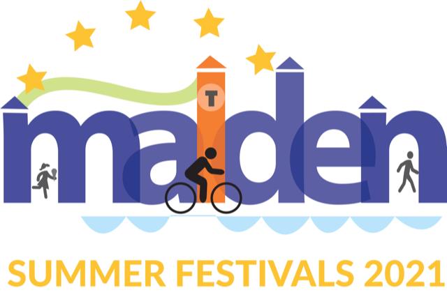 Malden Summer Festivals, bike, stars, and people in malden