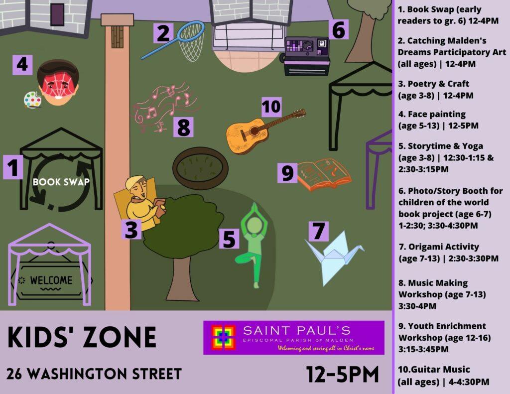 map of st. pauls area 26 Washington Street